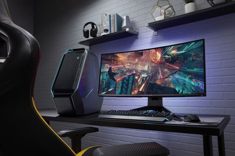 Alienware system gaming station pinterest fourniture bureau