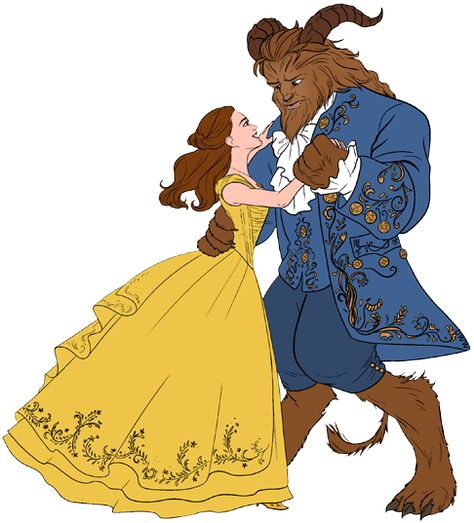 Belle Beast Belle, Beast dancing ...