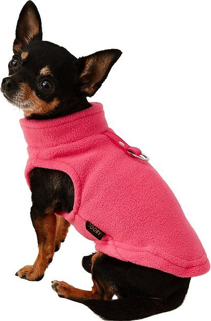 Buy Gooby Fleece Dog Cat Vest Pink X Small At Chewy Com Free