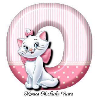 ALFABETO GATINHA MARIE DISNEY PNG - ALPHABET CAT MARIE DISNEY PNG