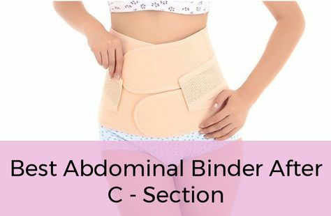 Best Postpartum Girdle & Abdominal Binder After C Section (Belly Wrap)