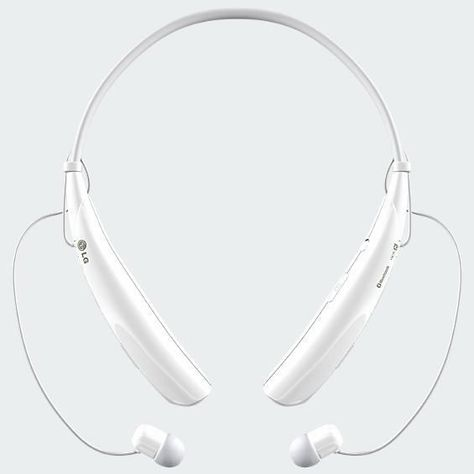 LG Tone PRO HBS 750 White Wireless Bluetooth Stereo