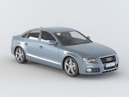 Audi A4 Free 3d Model Audi A4 Audi 3d Model