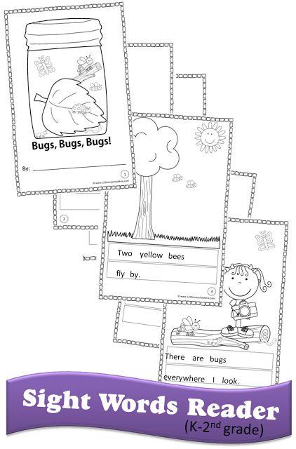 FREE Sight Word Readers   Primeros grados, Grado y Actividades