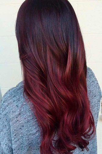 63 Best Red Ombre Hair Color Ideas For Long Hair Red Ombre Hair Hair Color Red Ombre Ombre Hair Color For Brunettes