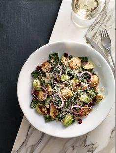 winter kale salad from Earls.  Soooooo good!