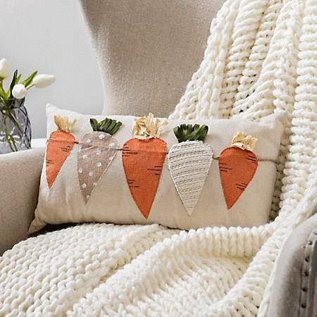 Pin By Jennifer Thatcher On Holiday Seasonal In 2020 Easter Pillows
