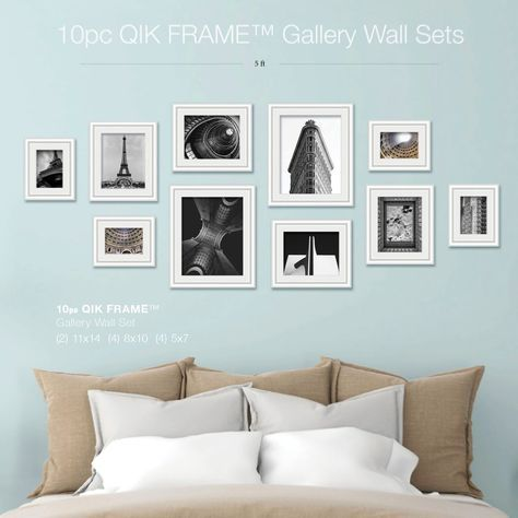 10pc Gallery Wall Set Q53 Century White Gallery Wall Frames Home Decor Gallery Wall