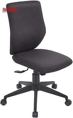 Bowthy Armless Office Chair Ergonomic Computer Task Desk Chair Without Arms Mid In 2020 Office Chair Armless Swivel Chair