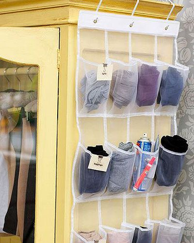 Think Outside The Box When You Are Visiting Storage Shops This Shoe Holder Is Also A Great Way To Store Small Items Su Home Organization Hacks Bedroom Closet Storage Storage Hacks