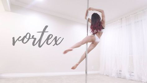 Vortex Looks Amazing And Is Beginnerish Level Pole Dancing Pole Dance Moves Pole Dancing Fitness