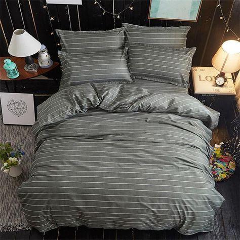 Smile Bedding Set Kids Cotton Bed Sheet Duvet Cover