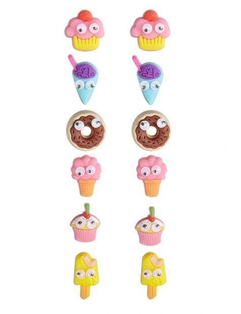 Justice is your one-stop-shop for on-trend styles in tween girls clothing & accessories. Shop our Sweet Treats Earrings.