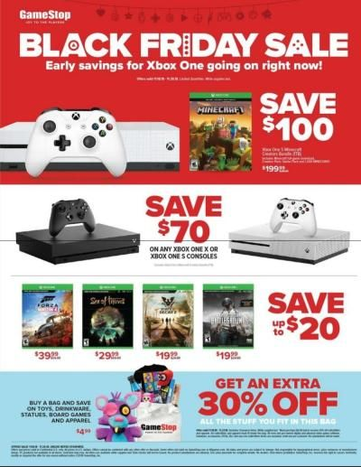 Get 30 Extra On Ps4 Black Friday Deals Xbox One S Ps4 Black Black Friday