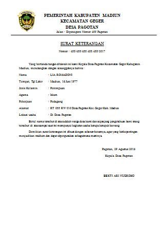 Surat Permohonan Pengangkatan Pegawai Negeri Sipil Home