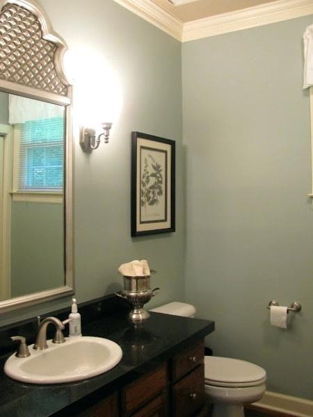 Sw Contented Bathroom Colors Small Bathroom Decor Small Apartment Bathroom