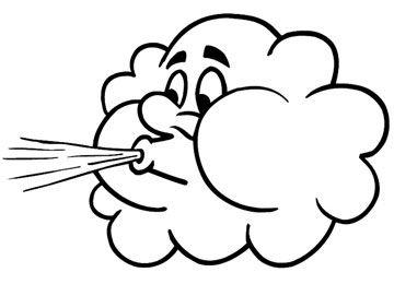 Resultado De Imagen Para Colorear Viento Dibujos De Nubes Viento Dibujo Dibujos