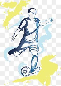 O Jogo De Futebol em 2020 | Desenho de jogador de futebol, Desenho ...