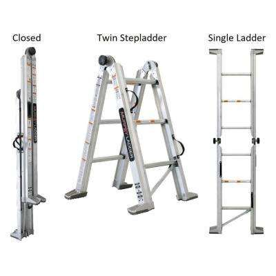 Murphy Ladder Ladders Building Materials The Home Depot In 2020 Ladder Multi Purpose Ladder Aluminum Extension Ladder