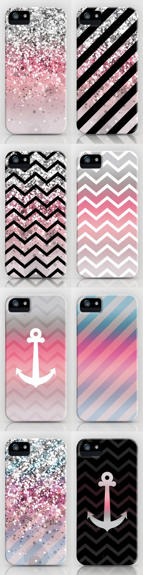 I really like the chevron and anchor ones... the sparkles not so much.