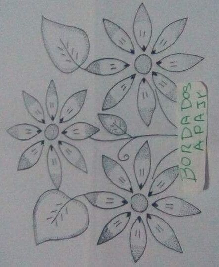 Pin De Kristen Morgan Em Dibujos Para Bordar Desenhos Bordados A