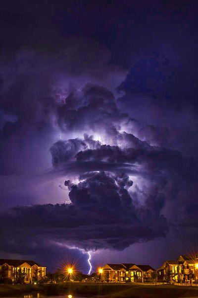 Halloween Lightning by PaigeBurress