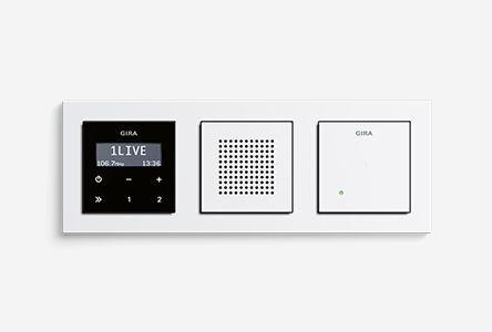 Grossartige Idee Gira Unterputz Radio Rds Badezimmer Radio Schalter Und Steckdosen Radios
