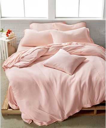 Calvin Klein Julian Pink Bedding Collection Reviews Bedding Collections Bed Bath Macy S Pink Duvet Cover Bed Linens Luxury Luxury Bedding Sets