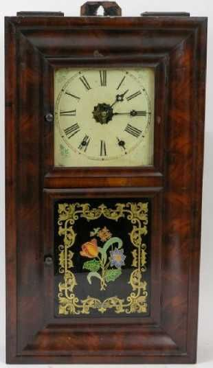 American Classical Jerome Co Wall Clock Antique Wall Clocks Clock Vintage Clock