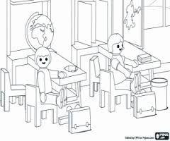 Playmobil Coloring Book Hledat Googlem Playmobil Und Schule