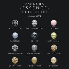 pandora charms meaning