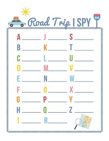 10 Fun and Playful Road Trip Games for Kids