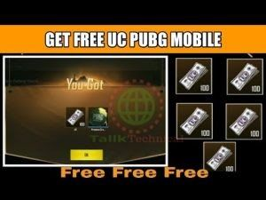Pubg Mobile Free Uc Redeem Code I Am Going To Tell You How To Get A Free Uc Through T Code Free Coding New Tricks