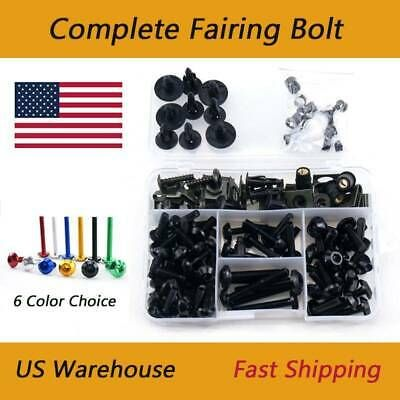 Fairing Expansion Screw Spike Bolts Nuts Universal Fit  Ducati