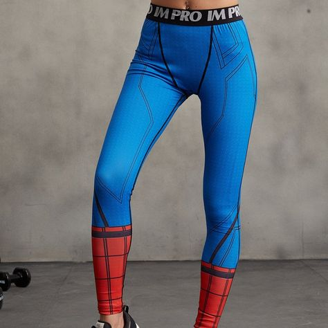 58a04e4646 SPIDERMAN Compression Leggings/Pants for Women