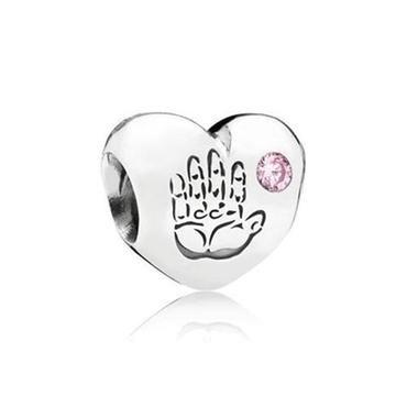 Pandora Baby Girl Pink Charm - Item 19421759