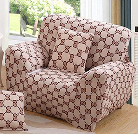 Pleasing Chezmax Printed Couch Cover Polyester Spandex Fabric Sofa Ncnpc Chair Design For Home Ncnpcorg