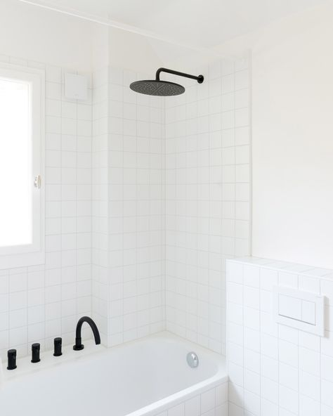 "Bureau Brisson Architectes updates Swiss ""hybrid"" home with blue cabinetry"