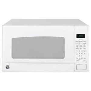 Ge 2 0 Cu Ft Countertop Microwave In White Jes2051dnww