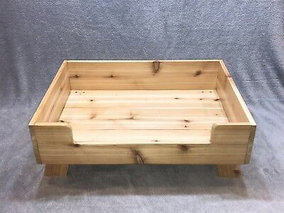 Details About Custom Cedar Dog Bed Frame Mattress Not Included