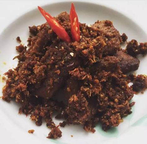 Resep Rendang Kering Daging Sapi Oleh Tsamrotul Janah Resep Daging Sapi Resep Daging