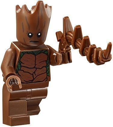 Legocompatibile Marvel Minifigure Groot New