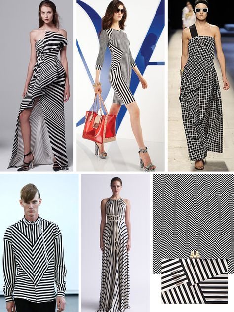 FASHION VIGNETTE: [ TREND REPORT ] RACHEL CLORE . BLACK + WHITE