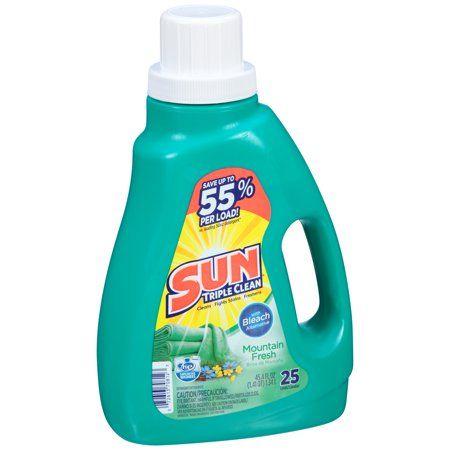 Household Essentials Laundry Detergent Bleach Alternative Cleaning