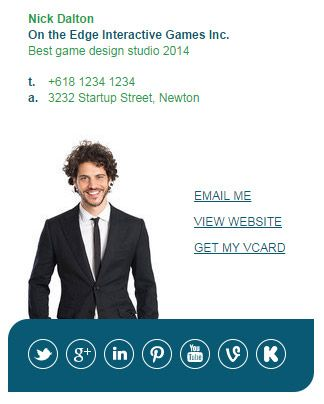 Market Me Series 2 - Email Signature Template by Email Signature ...