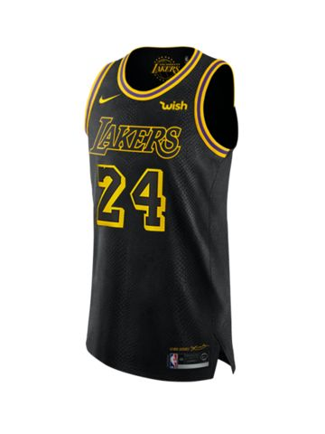 Los Angeles Lakers Kobe Bryant #24 City Edition Authentic Jersey ...