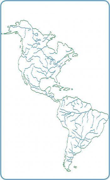 Resultado De Imagen Para Mapa Hidrografico De America