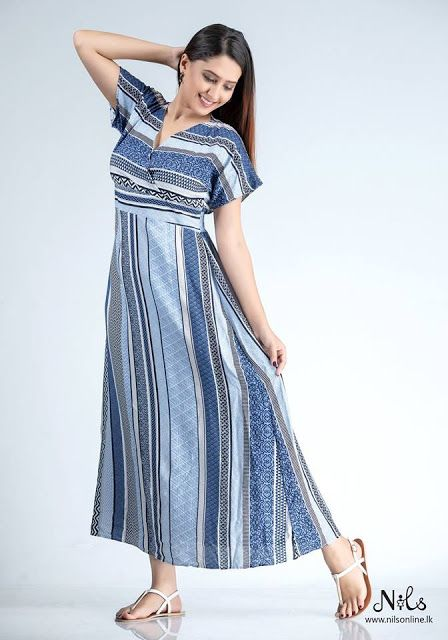 New Normal Frock Design In Sri Lanka Frock Design Maxi Dress
