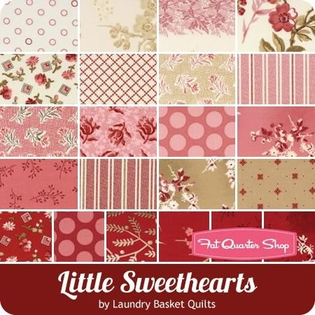Little Sweethearts By Laundry Basket Quilts For Andover Fabrics
