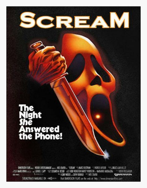 Mashup 03 Scream Halloween Poster Png Itse